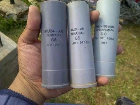 gas air mata tear gas