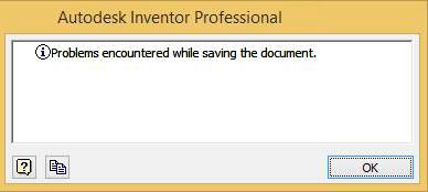 Inventor error save problem thumb